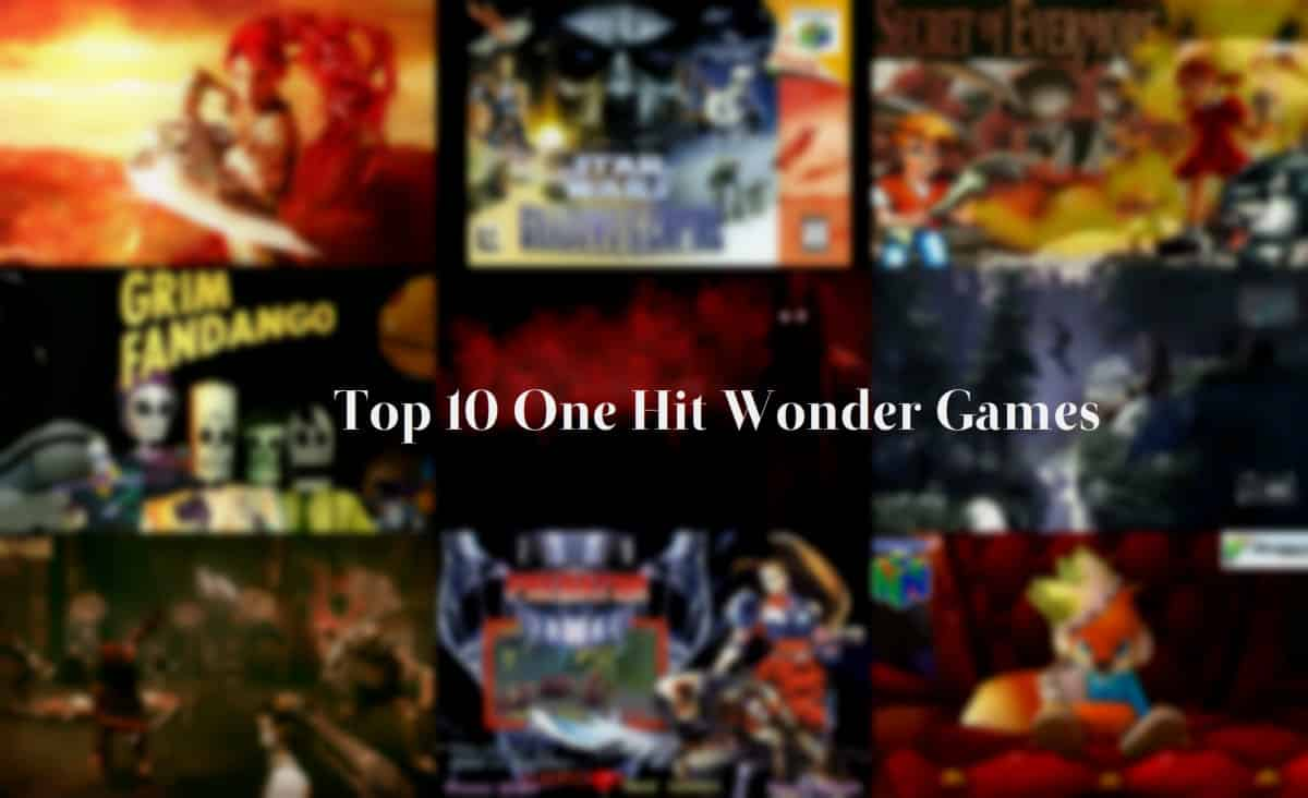 one hit wonder games - virteract